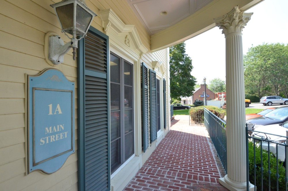 1A Main St Office Complex, Sparta NJ - Sign and Front Porch