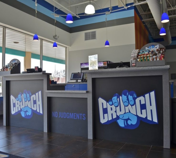 Crunch fitness - Toms River NJ - Reception Area